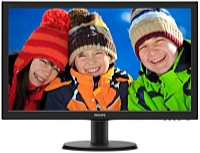 Philips - Monitor LCD TFT - Philips 23,6' LED 243V5QHSBA/00 FHD monitor, fekete