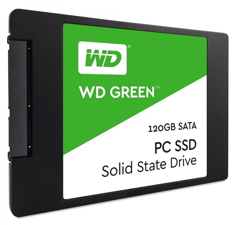 WD - Drive SSD - Western Digital Green 120GB 2,5' SATA 7mm SSD meghajtó