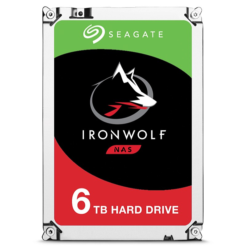 Seagate - Drive HDD 3,5 - Seagate IronWolf 3.5' 6TB 256MB 7200rpm SATA3 merevlemez