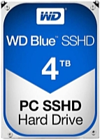 WD - Drive HDD 3,5 - Western Digital Blue 3.5' 4TB 7200rpm 64MB SATA3 SSHD