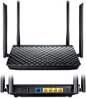 ASUS - Wifi - ASUS RT-AC1200G+ Dual-Band gigabit router