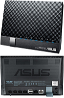 ASUS - Wifi - Asus DSL-N17U Wireless-N300 Gigabit ADSL/VDSL router + modem