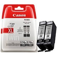 Canon - Printer Tintasugaras Patron - Canon PGI-570PGBK XL Black DUO PACK