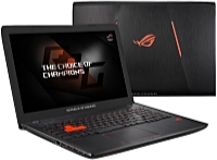 ASUS - Notebook - Asus ROG GL553VW-FY024T 15,6' i7-6700HQ 8G 1T GTX960M/4G W10Home notebook