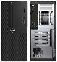Dell - Számítógép - Dell Optiplex 3050MT i3-7100 4Gb 500Gb Linux 3y PC