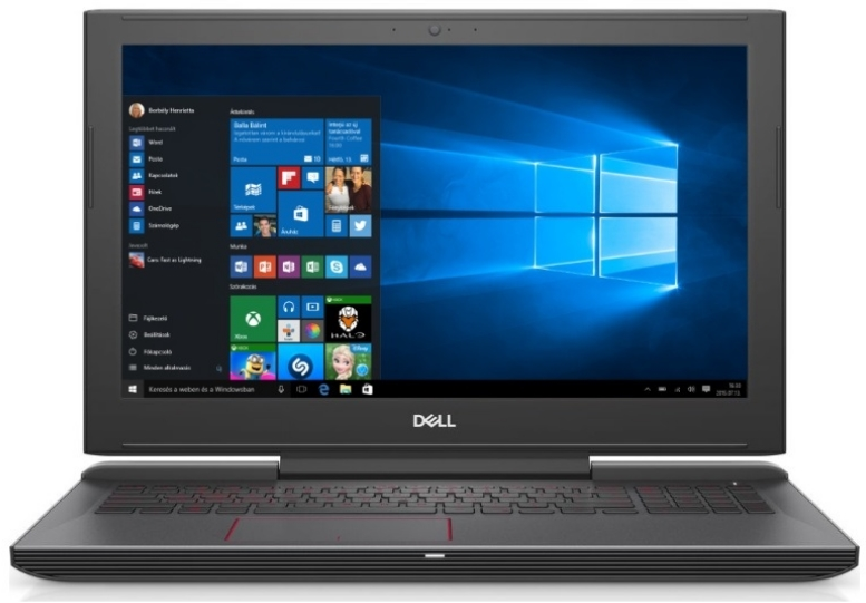 Dell - Notebook - Dell Inspiron 7577 15,6' FHD IPS i5-7300HQ 8G 256G GTX1060/6G W10Home notebook